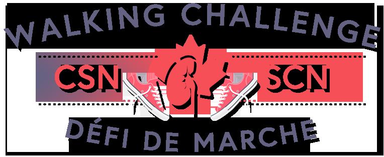 CSN Walking Challenge Logo - Transparent